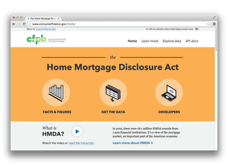 Mortgage Database Homepage Final